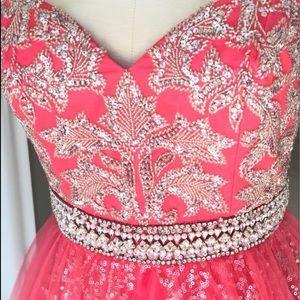 Custom sherri hill gown